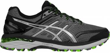 Asics GT 2000 5 Trail Carbon/Mid Grey/Green Gecko Men