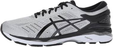 Asics Gel Kayano 24 Silver/Black/Mid Grey Men