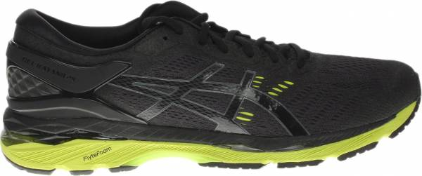 black asics trainers mens