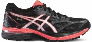 Asics Gel Pulse 8 GTX - Negro Black Silver Flash Coral (T6E7N9093)