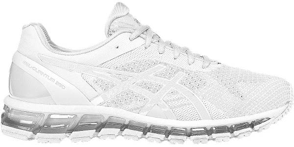 huge selection of 0955c 072cf Asics Gel Quantum 360 Knit White Snow Silver 0100