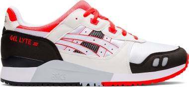 Asics Gel Lyte III - White/Flash Coral (1191A266101)