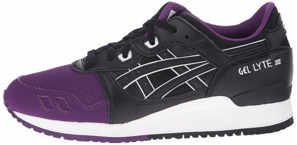 brand new b9670 58fd3 Asics Gel Lyte III purple black