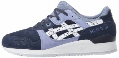 Asics Gel Lyte III - Blau Indian Ink White 5001 (H6B2L5001)