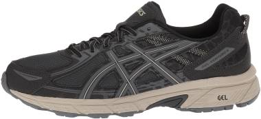 Asics Gel Venture 6 - Black Dark Grey Feather Grey (T7G1N9095)