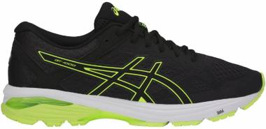 Asics GT 1000 6 - Black/Safety Yellow/Black (T7A4N9007)