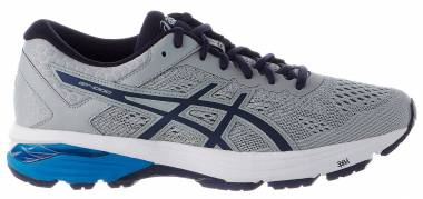 Asics GT 1000 6 - Mid Grey Peacoat Directoire Blue