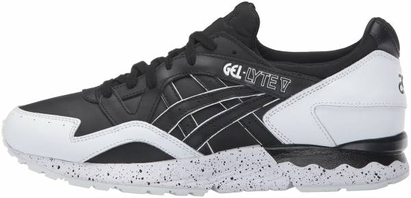 asics gel black mens