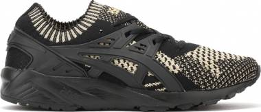 Asics Gel Kayano Trainer Knit - Black
