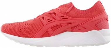 low priced 7ea1a ad3a6 Asics Gel Kayano Trainer Knit Orange Men