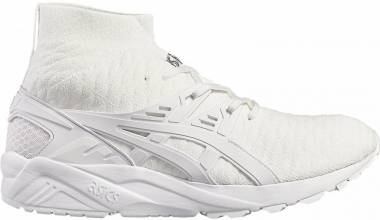 huge selection of 292de 93198 Asics Gel Kayano Trainer Knit MT WHITE WHITE Men
