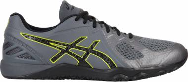 Asics Conviction X - Carbon Black Energy Green