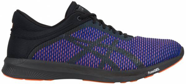 asics fuzex rush mens running sneakers