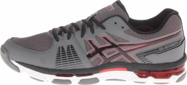 Asics Gel Intensity 3 Titanium/Onyx/Red Men
