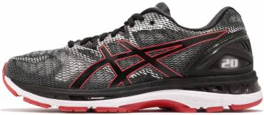 Asics Gel Nimbus 20 - BLACK/RED ALERT (T800N002)