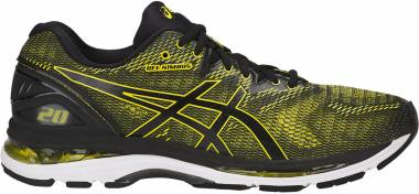 Asics Gel Nimbus 20 Sulphur Spring/Black/White Men
