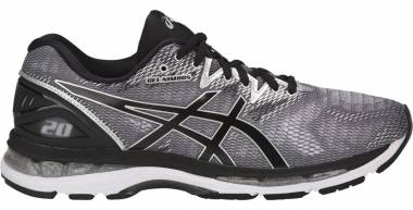 pretty nice 51c1b 4751d Asics Gel Nimbus 20 Carbon Black Silver Men