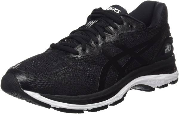 Asics Gel Nimbus 20 Mens Sports shoes Running, Red White and