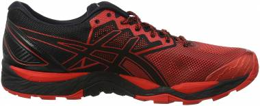 Asics Gel FujiTrabuco 6 - black red black 9023