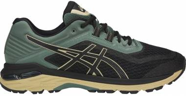 Asics GT 2000 6 Trail Black/Black/Dark Forest Men