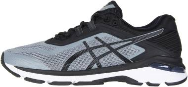 Asics GT 2000 6 - STONE GREY / BLACK / WHITE