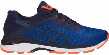 Asics GT 2000 6 - Imperial / Indigo Blue / Shocking Orange (T806N4549)