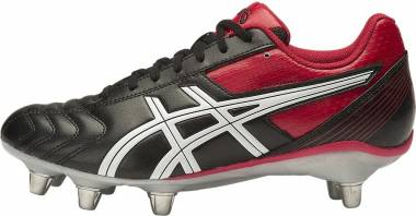Asics Lethal Tackle - BLACK/RACING RED/WHITE