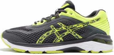 Asics GT 2000 6 Lite-Show - Gris Dark Grey Dark Grey Safety Yellow 9595 (T834N9595)