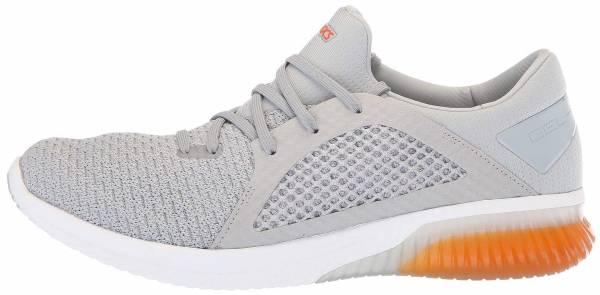 Asics Gel Kenun Knit Mid Grey/Lava Orange