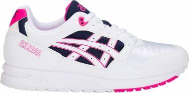 Asics Gel Saga - White / Pink Glo