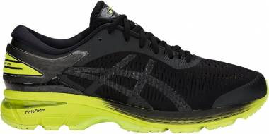 Asics Gel Kayano 25 - Black / Neon Lime (1011A019001)
