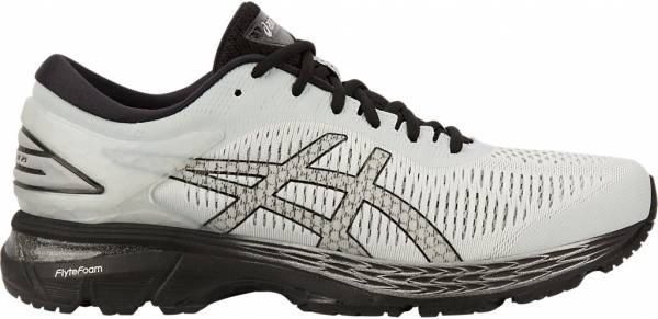 Asics Gel Kayano 25 - GLACIER GREY/BLACK