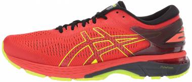 Asics Gel Kayano 25 - Cherry Tomato / Safety Yellow (1011A019801)