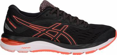 Asics Gel Cumulus 20 Black/Flash Coral Men