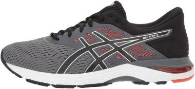 Asics Gel Flux 5 Carbon/Black/Cherry Tomato Men