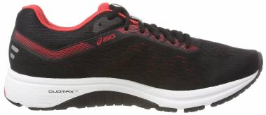 Asics GT 1000 7 Black/Red Alert Men