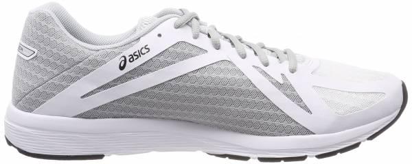 Asics Amplica - White Silver Black