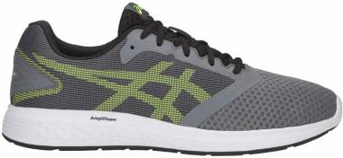 Asics Patriot 10 - Gris Steel Grey Hazard Green 031 (1011A131031)