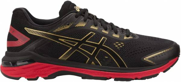 Asics GT 2000 7 - Black/Rich Gold (1011A262001)