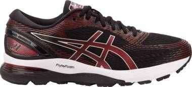 Asics Gel Nimbus 21 - Black/Classic Red (1011A169002)