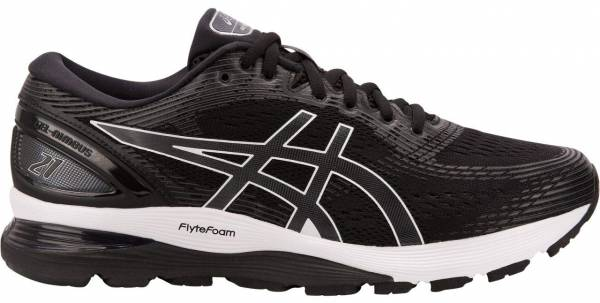 ASICS GEL NIMBUS 20 WIDE FIT (2E) Mens Running Shoes Black