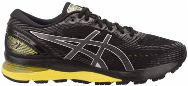 Asics Gel Nimbus 21 Black/Lemon Spark Men