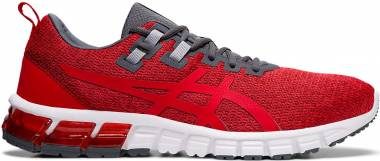 Asics Gel Quantum 90 Burgundy/Speed Red Men