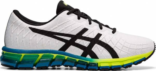 Asics Gel Quantum 180 4 - White/Safety Yellow (1021A104104)