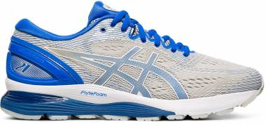 Asics Gel Nimbus 21 Lite-Show - Mid Grey/Illusion Blue (1011A207020)