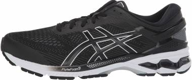 Asics Gel Kayano 26 - Black / White (1011A541001)