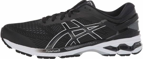 Asics Gel Kayano 26 - Black/White