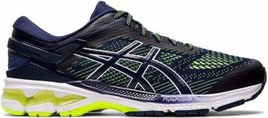Asics Gel Kayano 26 - Peacoat/Safety Yellow (1011A541403)