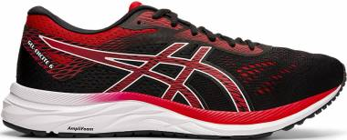 Asics Gel Excite 6 - BLACK/SPEED RED (1011A165005)