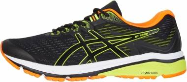Asics GT 1000 8 - Black/Safety Yellow